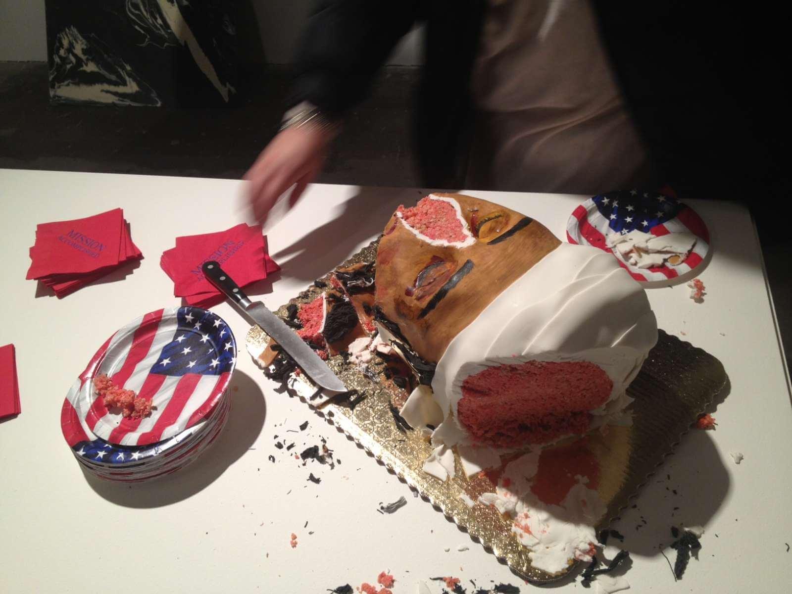 Osama Bin Laden cake