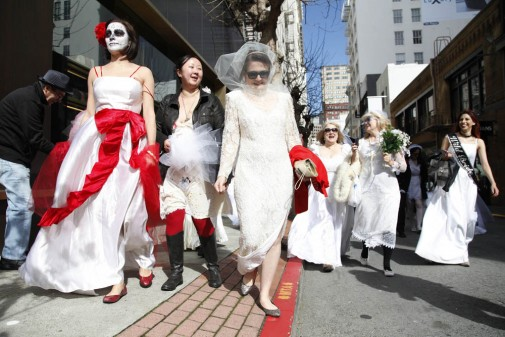 Brides of March Photos by Alex Washburn/SFBay
