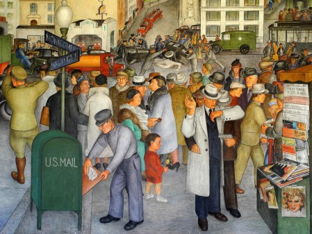 Coit Tower Murals Photo: Markus Lueske/Flickr
