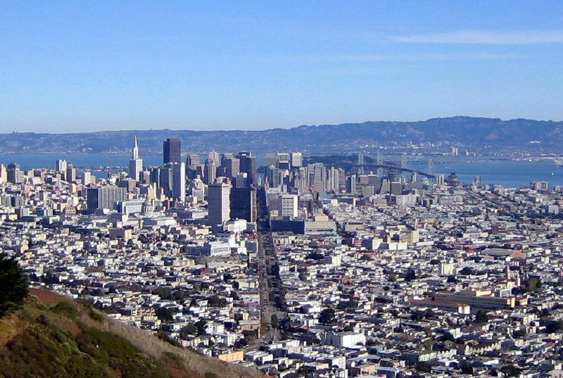 Twin Peaks View San Francisco