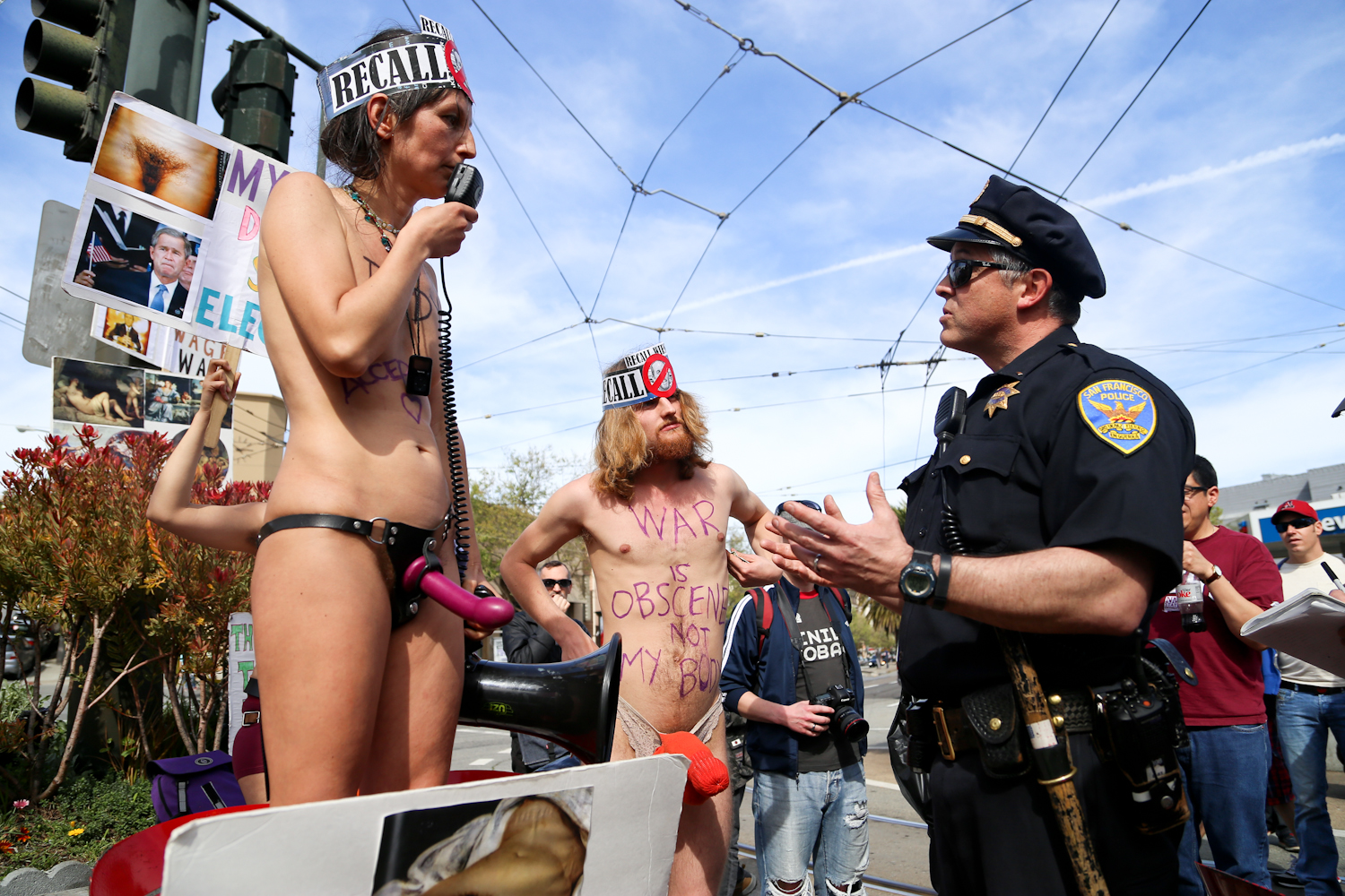 San Francisco Nudity Protest