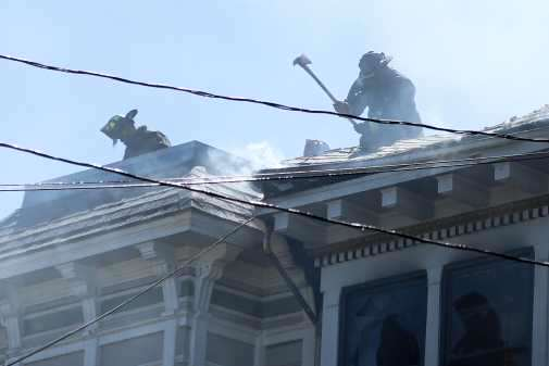 Duboce Fire