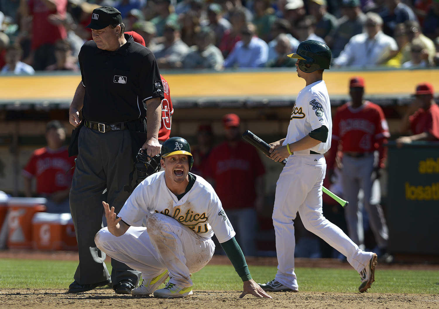 Oakland A's vs Los Angeles Angels