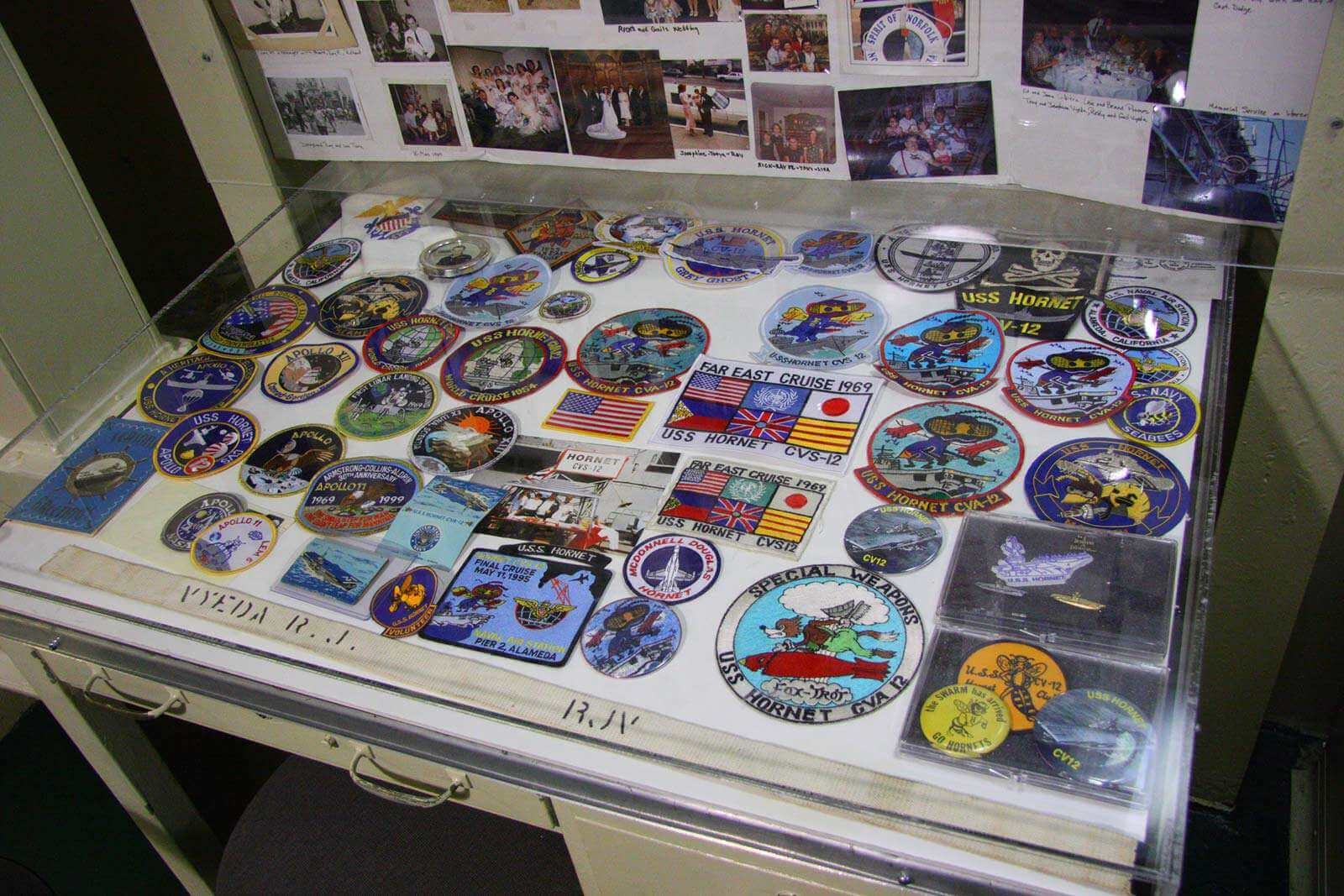 USS Hornet Patches