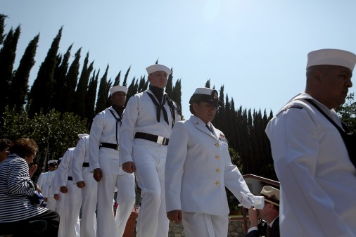 Cesar Chavez Military Honors