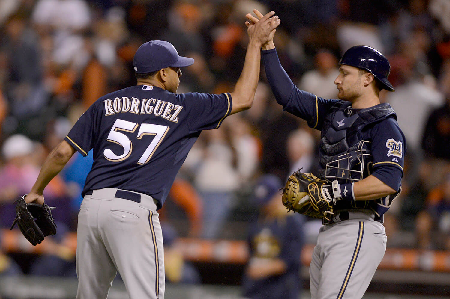 Milwaukee Brewers vs San Francisco Giants